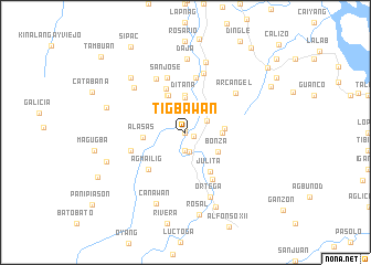 map of Tigbawan