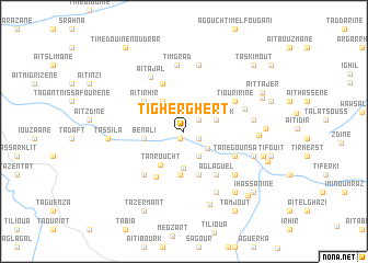 map of Tigherghert