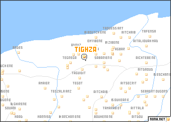 map of Tighzâ