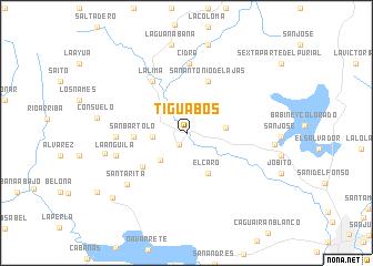 map of Tiguabos