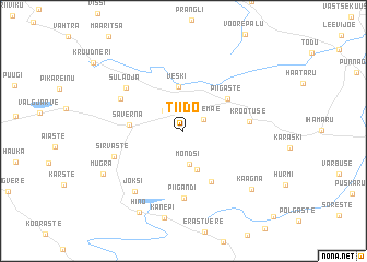 map of Tiido