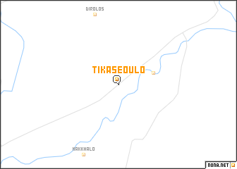 map of Tikaseoulo