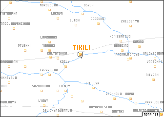 map of Tikili