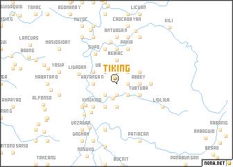 map of Tiking