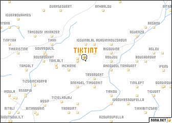 map of Tiktint
