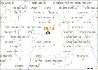 map of Tilaj
