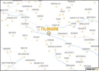 map of Tilakura