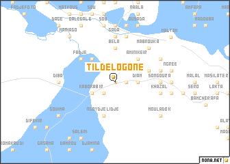 map of Tildé Logone