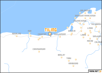 map of Tiling
