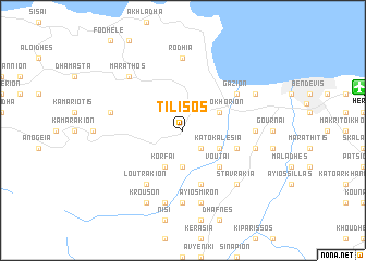 map of Tílisos