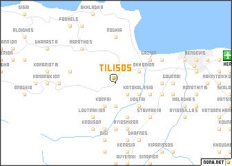 map of Tílisos