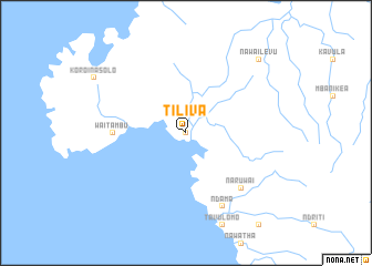 map of Tiliva