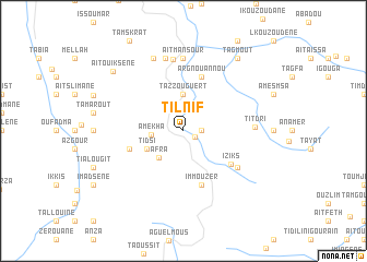 map of Tilnif