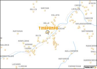map of Timapampa