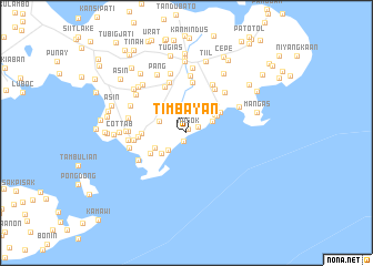 map of Timbayan