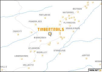 map of Timber Trails