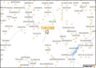 map of Timizar