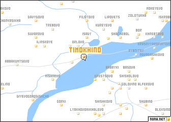 map of Timokhino