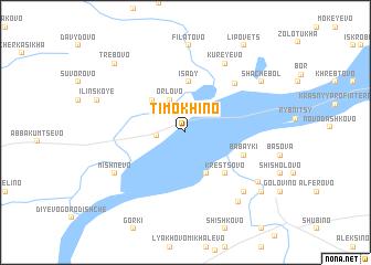 map of Timokhino