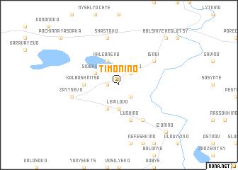 map of Timonino