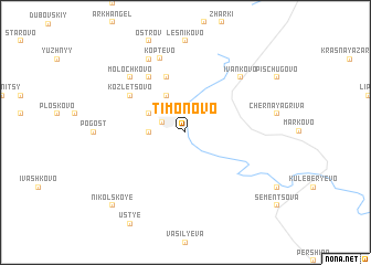 map of Timonovo