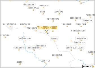 map of Timoshkino
