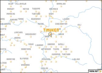 map of Timuken