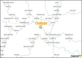 map of Tinadok