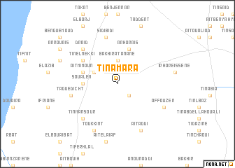 map of Ti n'Amara