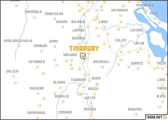 map of Tinapuay