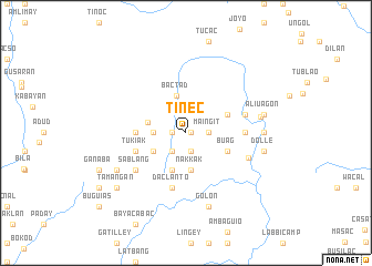 map of Tinec