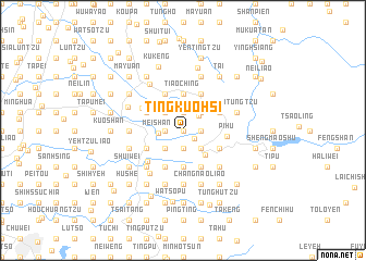 map of Ting-kuo-hsi