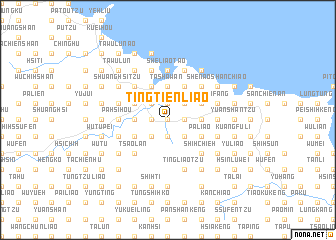 map of Ting-t\