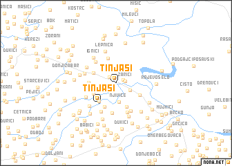map of Tinjasi