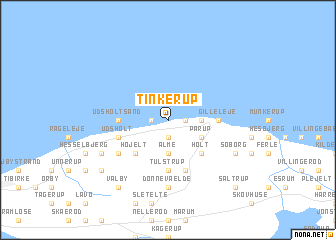 map of Tinkerup