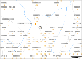 map of Tinkong