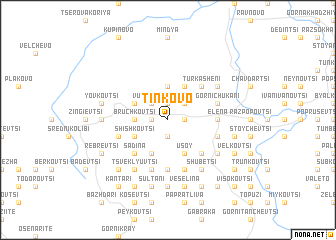 map of Tinkovo