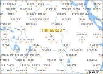 map of Tinngokzu