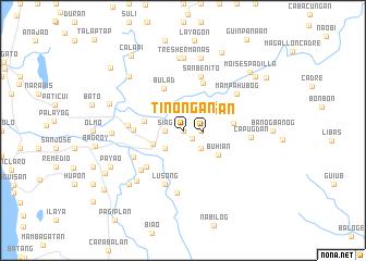 map of Tinoñgan