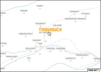 map of Tinoumouch