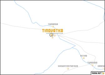 map of Tinovatka