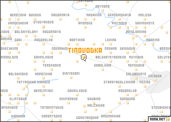 map of Tinovodka
