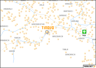map of Tinovo