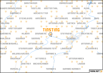 map of Tinsting