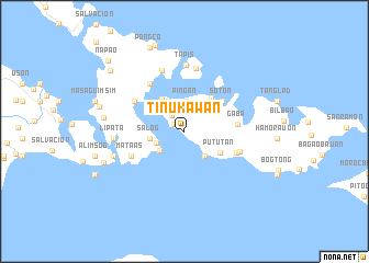 map of Tinukawan