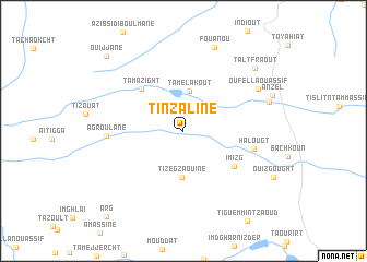 map of Tinzaline