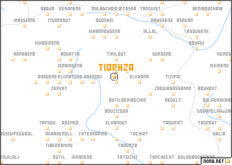 map of Tiorhza