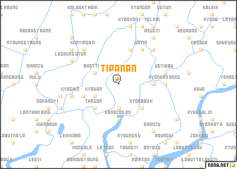 map of Tipanan