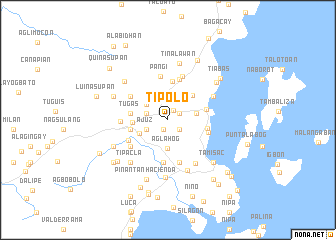 map of Tipolo