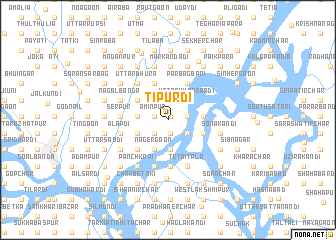 map of Tipurdi